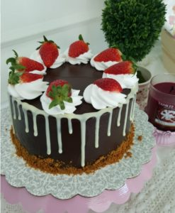 Double Mousse Chocolate Cake