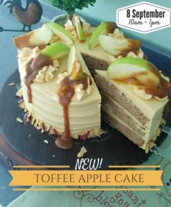 Toffee Apple Cake Workshop